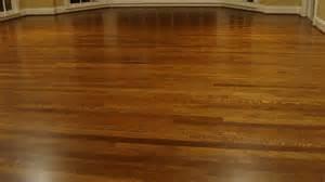 recently installed and custom finished hardwood floors