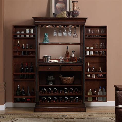 Indoor Bar Cabinet Heights Home Bar Wine Cabinet Contemporary Indoor Pub And Bistro Tables By