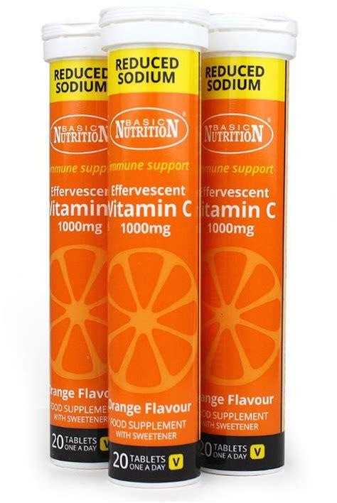 vit c supplements vitamin c effervescent 1000mg of just vitamins