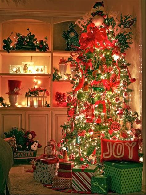 Christmas Tree Home Decorating Ideas | 15 christmas tree decorating ideas decorating hgtv