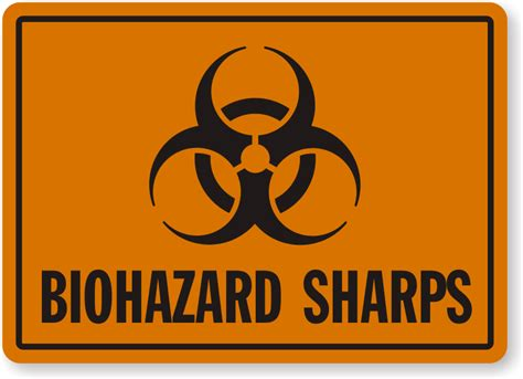 printable biohazard label sharps warning labels and signs biohazard sharps waste