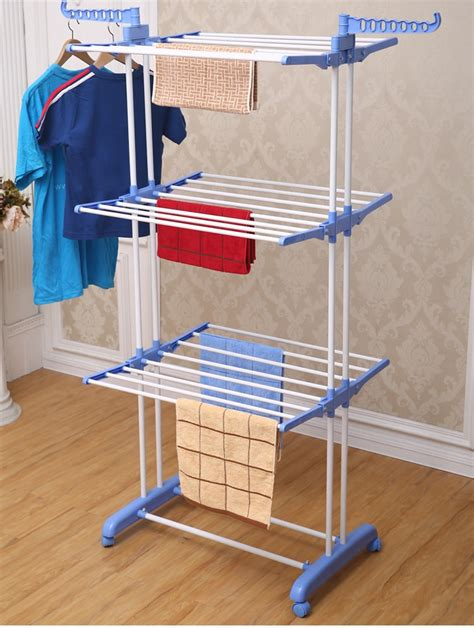 indoor clothes drying rack jp cr300w metal multi purpose free standing indoor lifting laundry drying rack buy lifting