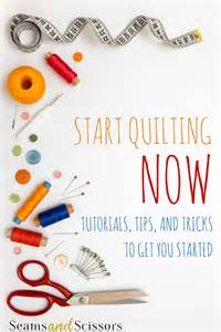 How To Start A Quilt by Make Your Quilt Now Quilting For Beginners Seams