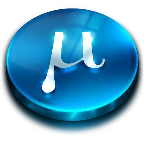 blue utorrent utorrent 3 icon utorrent icons softicons