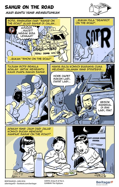 film on the road adalah kisah sejumput dari sahur on the road