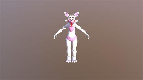 spliks fnaf toy foxy pre mangle ported model