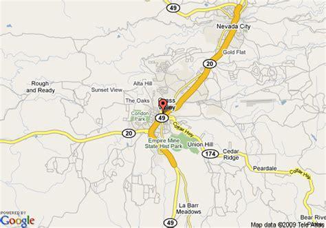 map of grass valley california inn express hotel suites gold miners inn grass