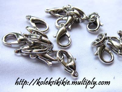 Kait Rangka Anting Gantung Silver Aksesoris kait udang silver koleksikikie