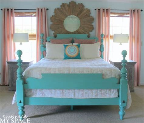 how to paint a bed 1000 ideas about painted wood headboard on pinterest