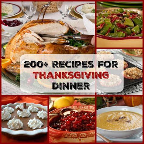easy thanksgiving menu 200 recipes for thanksgiving dinner mrfood com