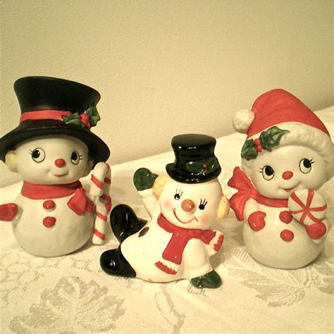 snowman home decor christmas snowmen vintage snowman home decor by