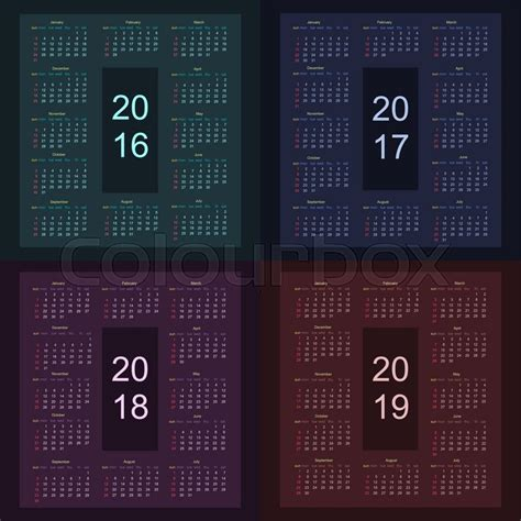 Calendar 2018 Starting Sunday Calendar 2016 Starting From Sunday Calendar 2017 Starting