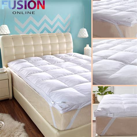 Where To Buy Hotel Quality Mattresses by Luxury Goose Feather Mattress Topper Elasticated
