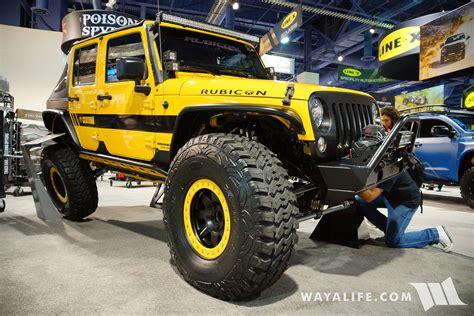 spyder jeep 2016 sema poison spyder rubicon express beatrix jeep jk
