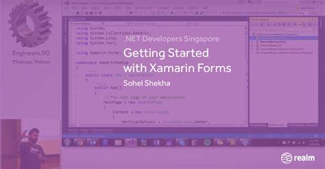 xamarin offline tutorial getting started with xamarin forms