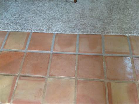 saltillo tile dirty peeling dull california tile refinishing