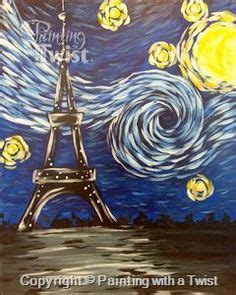 paint with a twist eiffel tower pwat paintings on events painting and fleur