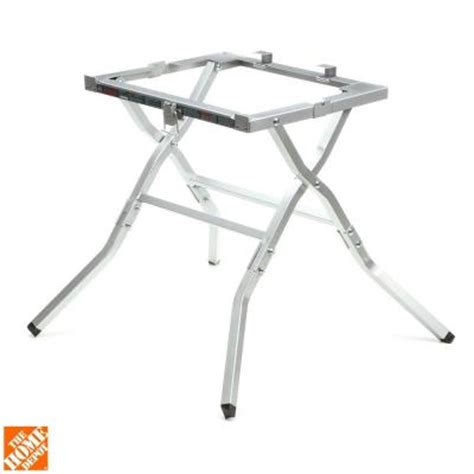 Folding Table Saw Stand Bosch 10 In Table Saw Folding Stand Gta500 The Home Depot