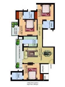 3bhk House Plan espania sonepat