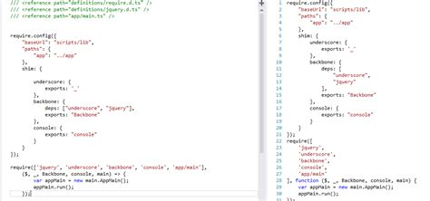 js template modular javascript using require js codeproject
