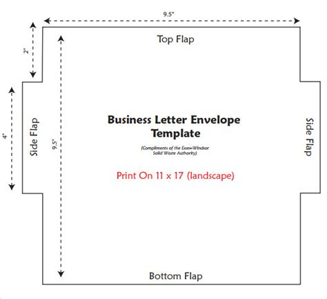 Letter Envelope Template 17 Letter Envelope Templates To Download Sle Templates