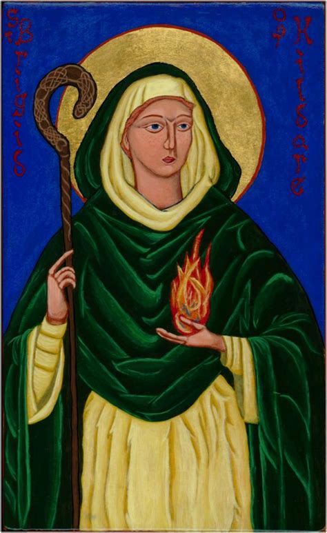 The Life of Saint Brigid   The Woman and the Wheat