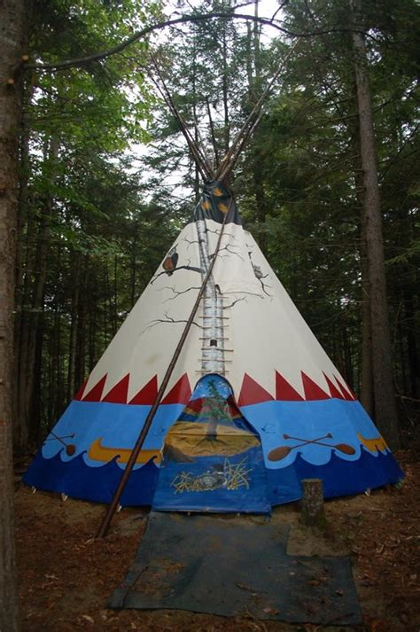 tipi adirondacks camps outdoor living lakefront
