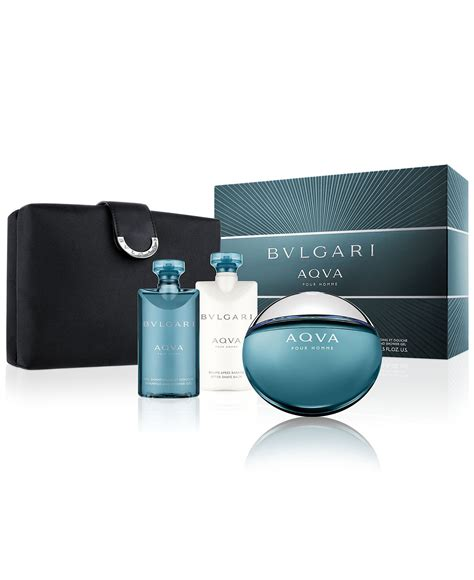 Bvlg Aqua Set bvlgari aqva pour homme gift set edt 100ml aftershave balsam 75ml tusf 252 rdő 75ml t 225 ska f 233 rfi