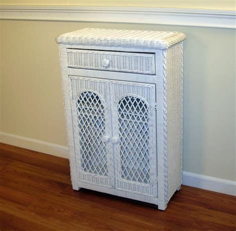 white wicker bathroom cabinet 1000 images about white wicker on pinterest dining sets