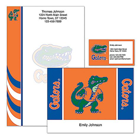 Bradford College Letterhead Florida Gators Collectibles Jewelry And Posters Carosta