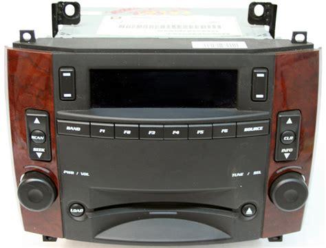 cadillac cts radio 2005 2007 cadillac cts factory 6 disc changer cd player