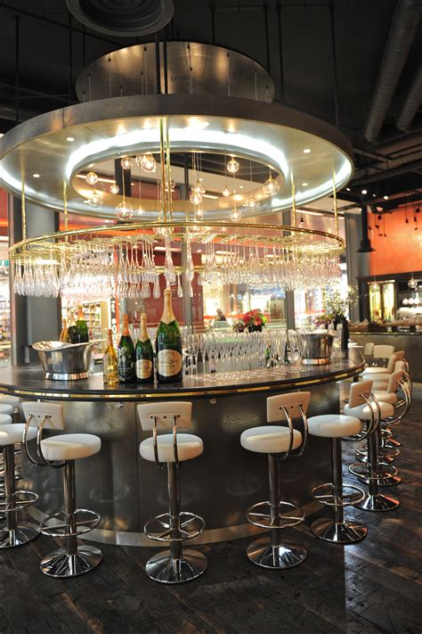 bar on top of one new change searcys chagne bar one new change london the