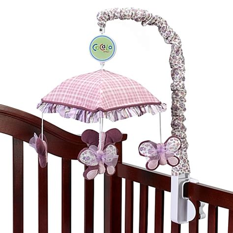cocalo sugar plum crib bedding cocalo sugar plum musical mobile bed bath beyond
