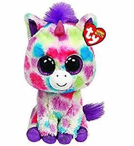 amazon ty beanie boos wishful unicorn plush toys amp games