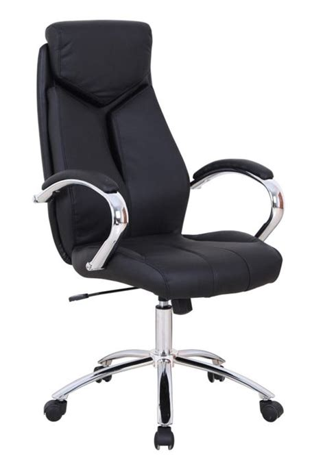 Fully Adjustable Office Chair by Buy Fully Adjustable Padded Desk Swivel Office Chair Black Faux Leather From Our Office Chairs