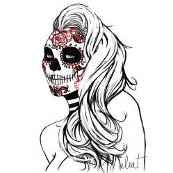 mexican skull by elsavonnarbe on deviantart