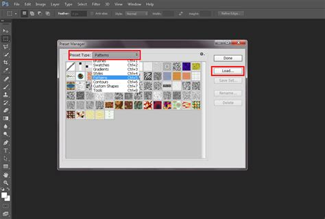 Import Pattern Psd | how to import and create photoshop patterns