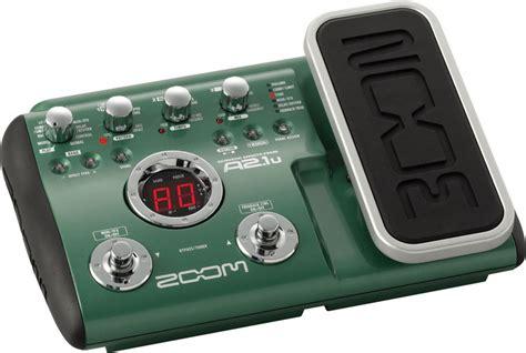 Multi Effect Gitar zoom a2 1u acoustic guitar multi effects pedal akustik