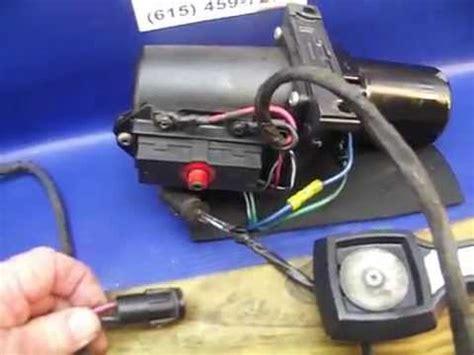 installing  hydraulic trim hoses  volvo penta sx  outdrive funnydogtv