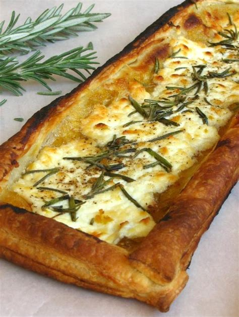 goat cheese tart rosemary fig and goat cheese tarts feast your eyes