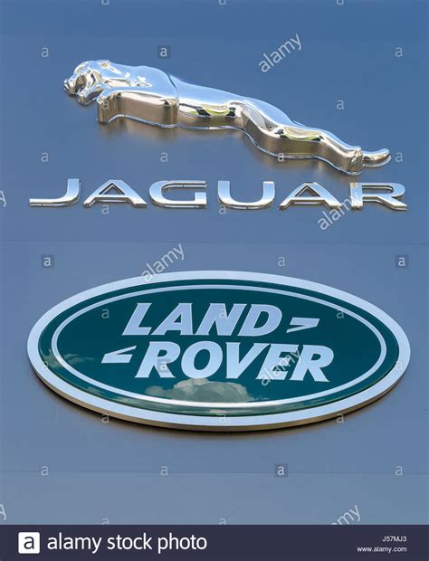 jaguar land rover logo jaguar land rover logo stock photos jaguar land rover