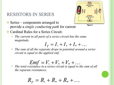 resistors in series sum physics ii circuit notes