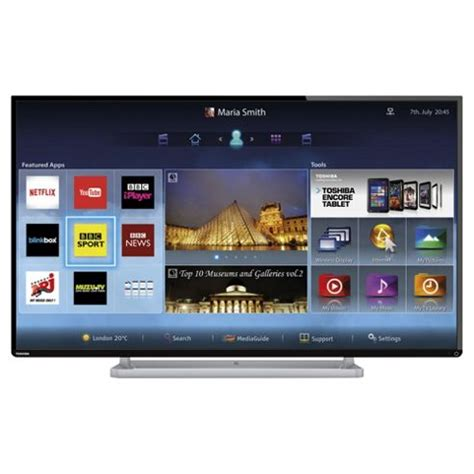 Tv Led 42 Inch Malaysia buy toshiba 42l6453 42 inch smart wifi built in hd 1080p led tv with freeview hd from our
