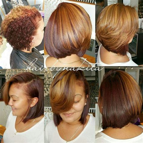 how to blow out bob haircut 29 best natural hair silk press images on pinterest