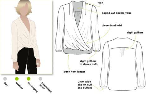 pattern review pattern sales stylearc dotty blouse