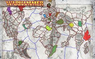 Warhammer World Map by Gallery For Gt Warhammer Old World Map