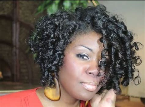 rodded bob hairstyles flexi rods on natural hair nsc natural hair