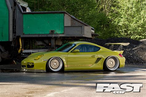 porsche modified modified porsche cayman s 987 fast car