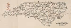 carolina state highway system 1922