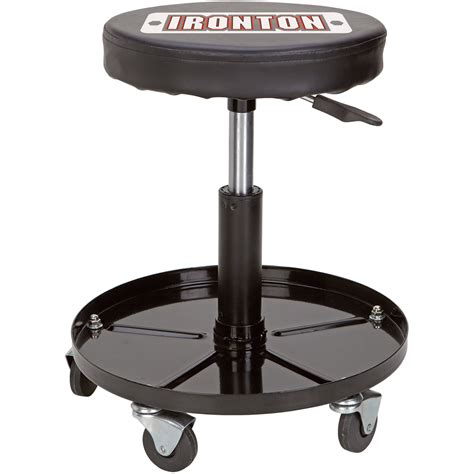 ironton pneumatic shop stool 360 176 swivel model pss 01